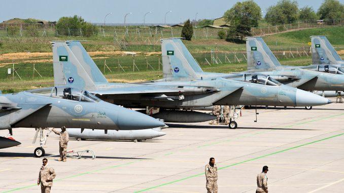 مقاتلات أف-15 سعودية