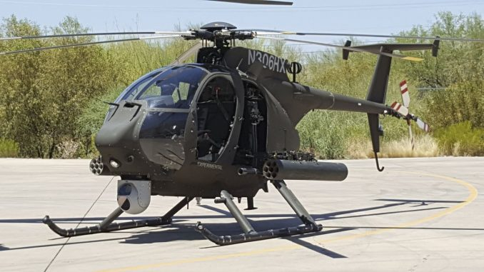 مروحية من طراز Boeing AH-6i