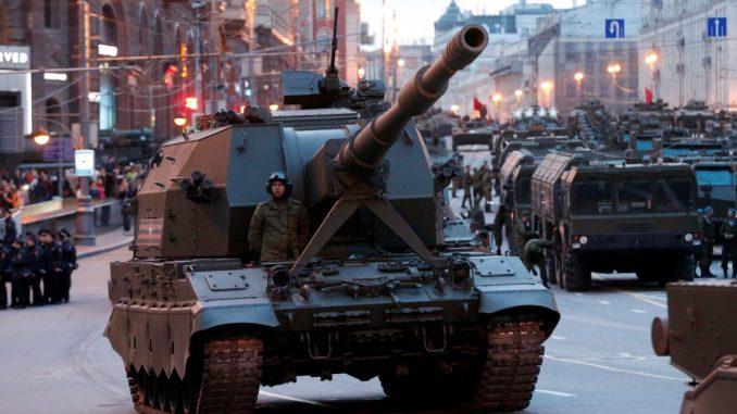 عربة عسكرية روسية
