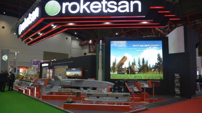 جناح شركة روكتسان في معرض IndoDefence