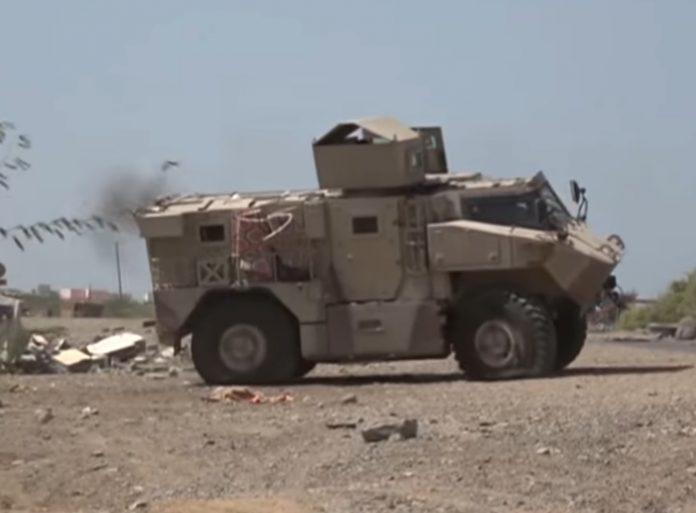 آلية N35-4 التي شوهدت في اليمن