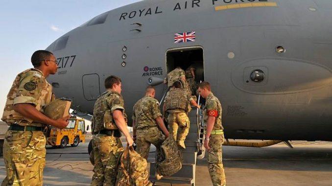 قوات مسلحة بريطانية