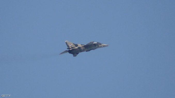 طائرة تابعة للجيش السوري من طراز ميغ 23