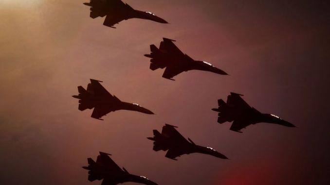مقاتلات سوخوي الروسية
