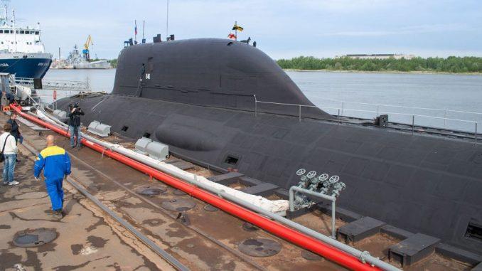 """الغواصة النووية الروسية """"كازان"""""""