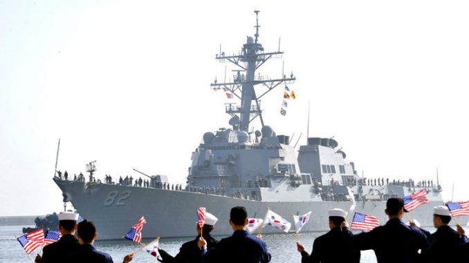 قوات من البحريتين الأميركية والكورية