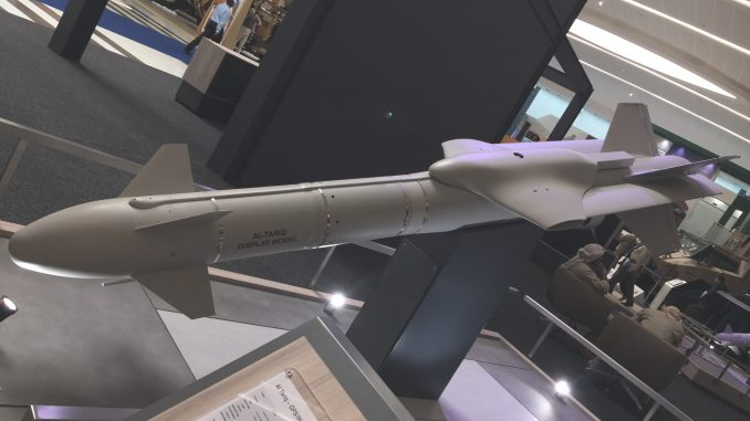 """صاروخ """"الطارق"""" الإماراتي (صورة خاصة)"""