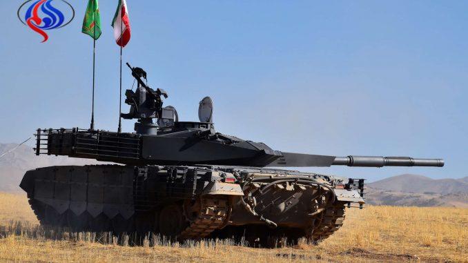 دبابة كرار الإيرانية الجديدة