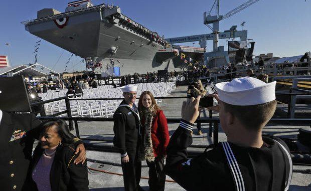 حاملة USS Gerald R. Ford