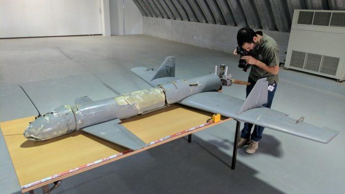 طائرة القاصف-1 من دون طيار الإيرانية