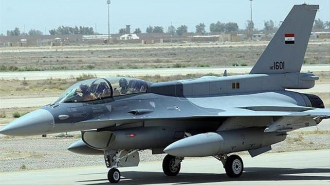 مقاتلة إف 16 العراقية