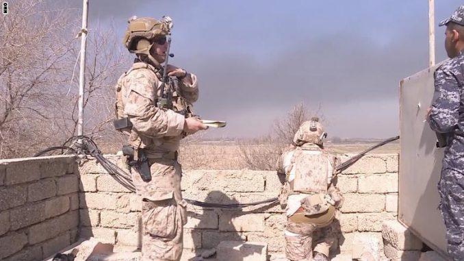 جنود أميركيون في الموصل