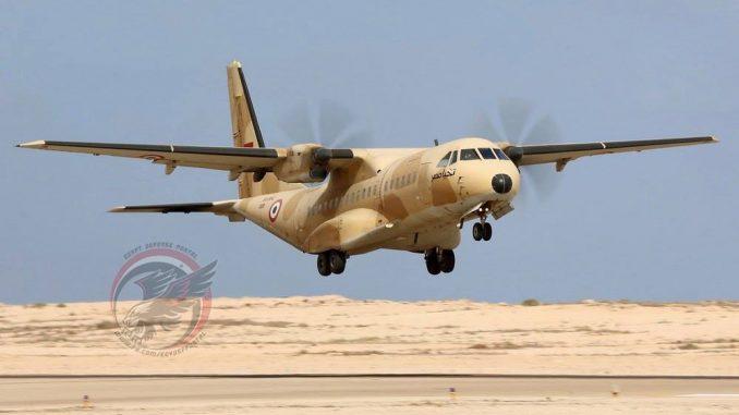 طائرة النقل التكتيكي المصرية C-295M