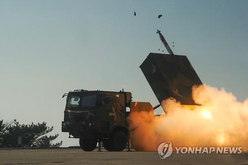 تدريبات كوريا الجنوبية الصاروخية