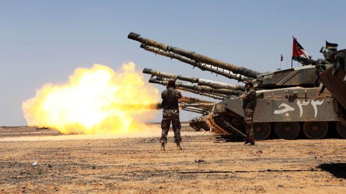 دبابة تشالينجر أردنية