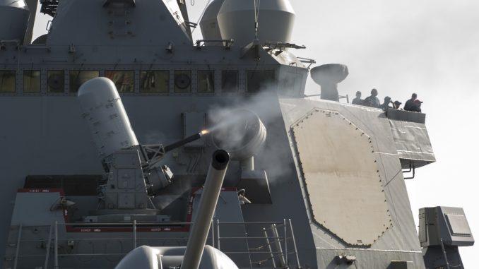 مدمرة USS Porter الأميركية