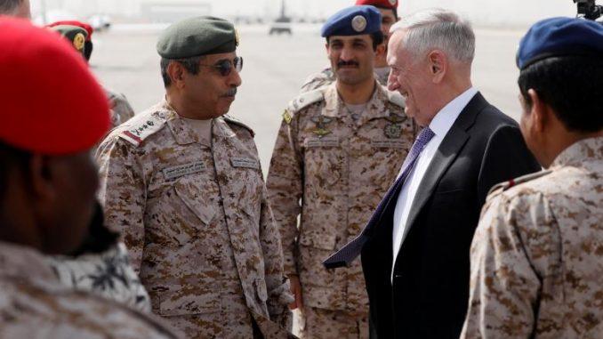 الوزير جيمس ماتيس والجنرال عبد الرحمن البانيان