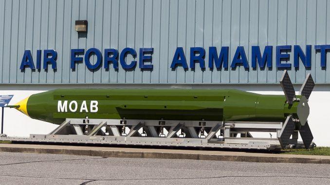 """""""أم القنابل"""" GBU-43"""