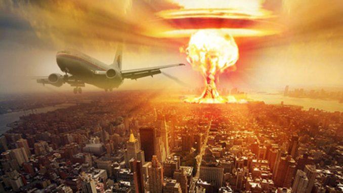 لقطة تصوريرية لمدينة نيويورك خلال انفجار نووي