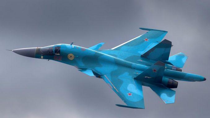 مقاتلة سو-34 الروسية