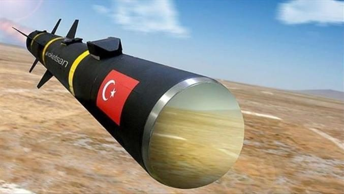 صاروخ تركي