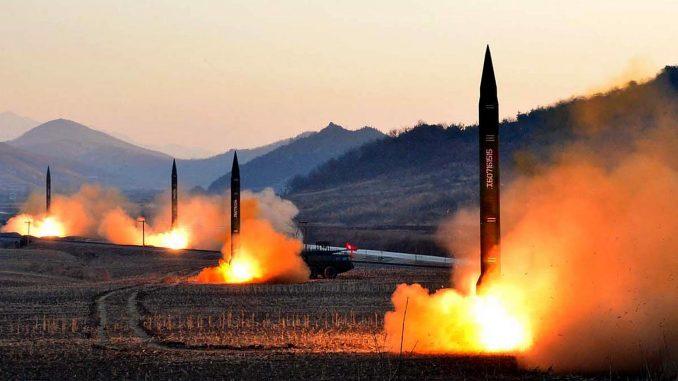 اختبار صواريخ كورية شمالية