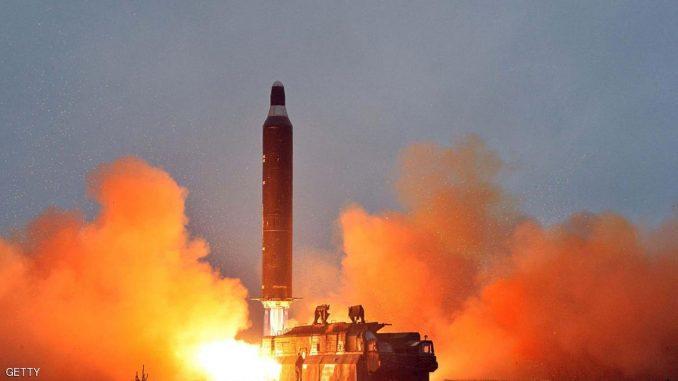 أحدث تجربة صاروخية كورية شمالية