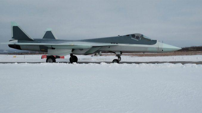 مقاتلة تي-50 الروسية