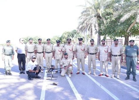 شرطة دبي تختبر طائرة بدون طيار