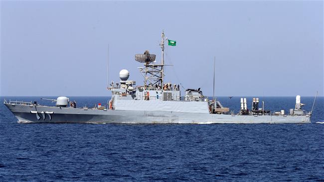 سفينة حربية سعودية