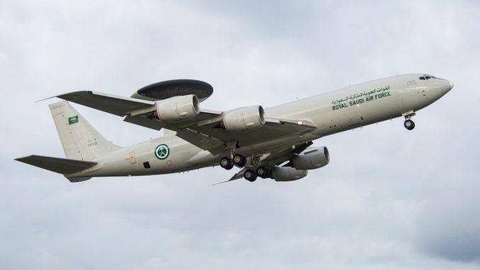 طائرة أواكس السعودية