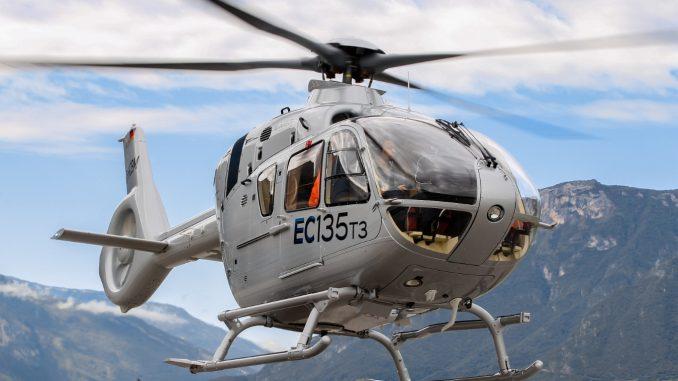 مروحية H135 من إنتاج شركة إيرباص