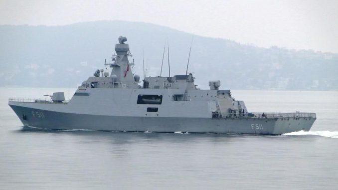 سفينة من طراز ميلغم من إنتاج تركيا