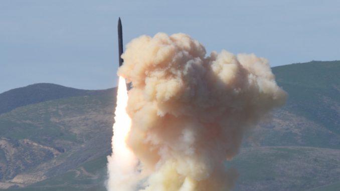 تجربة صاروخية أميركية