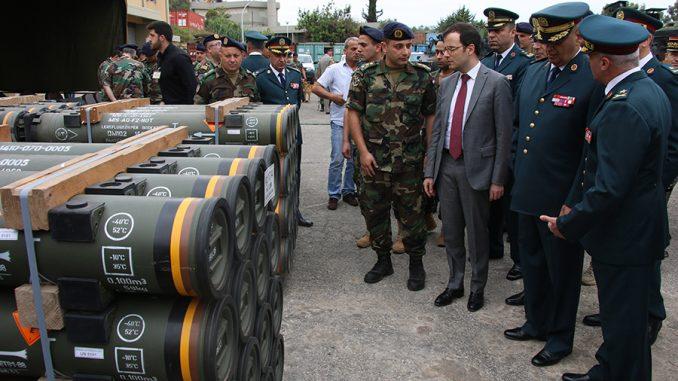 الجيش اللبناني يتسلم معدات عسكرية فرنسية