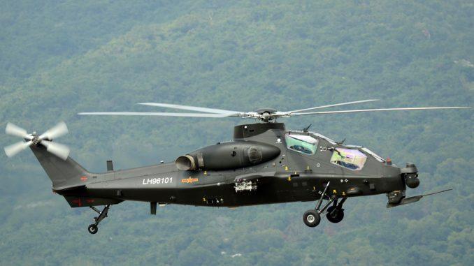 مروحية Z-10 الهجومية الصينية