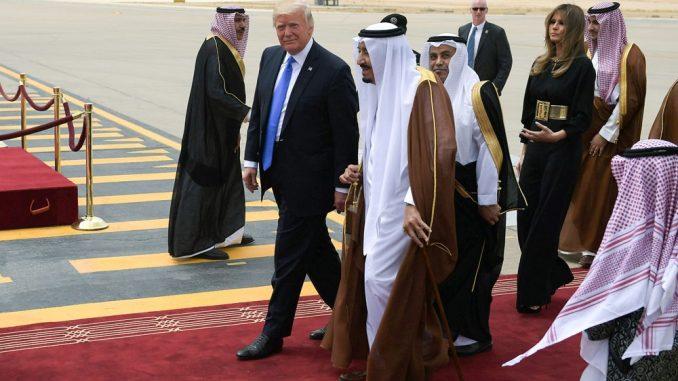 الرئيس الأميركي والعاهل السعودي