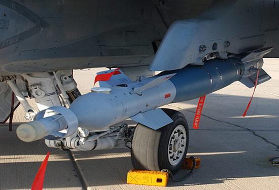 قنبلة Paveway من إنتاج شركة رايثيون الأميركية