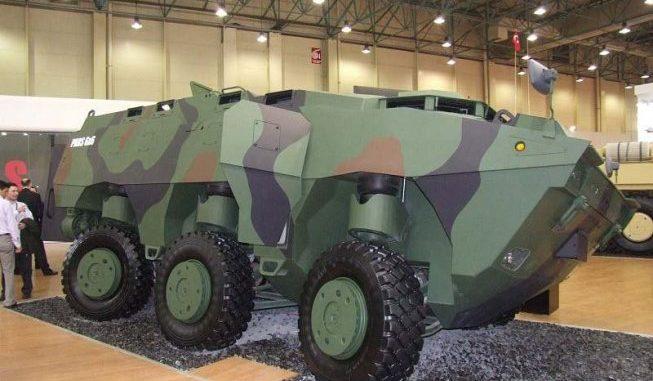 آلية عسكرية تركية