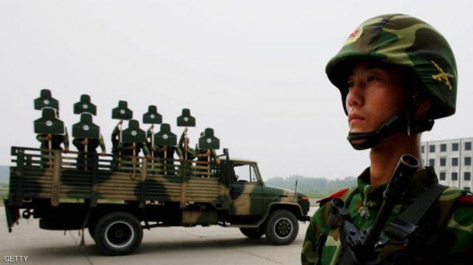 قوات صينية