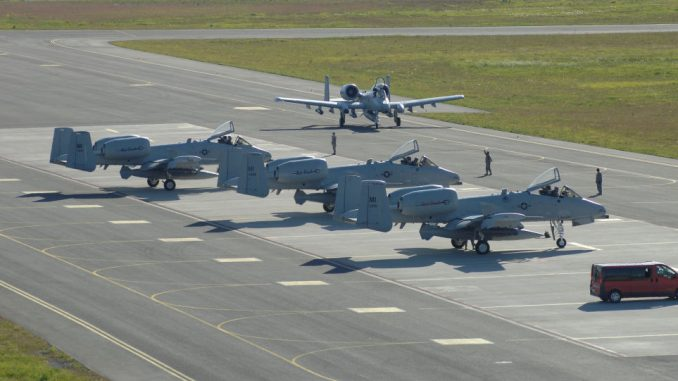 مقاتلات أميركية من طراز A-10