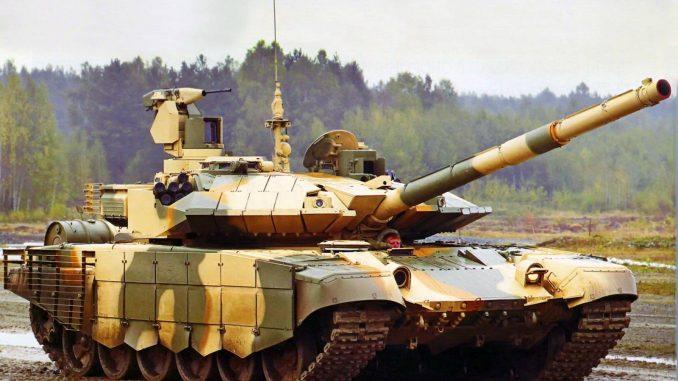 دبابة القتال الرئيسة T-90MS الروسية
