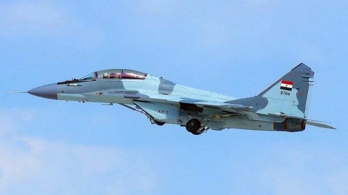 مقاتلةMiG-29M/M2 بالتمويه الأزرق السماوي