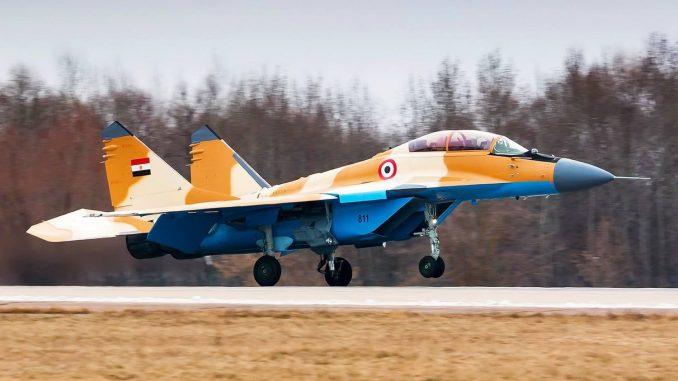 مقاتلةMiG-29M/M2 المصرية