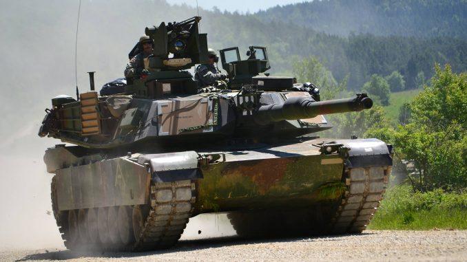 دبابة M1A2 الأميركية