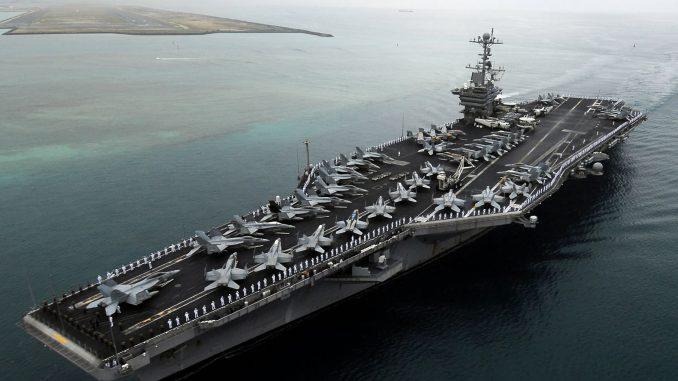 حاملة الطائرات الأميركية Nimitz Class Carrier