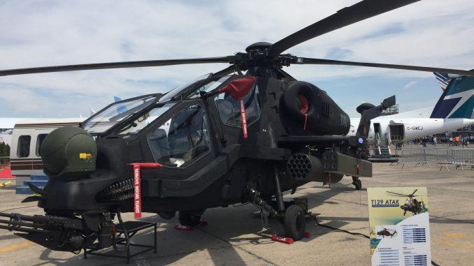مروحية أتاك تي-129 التركية