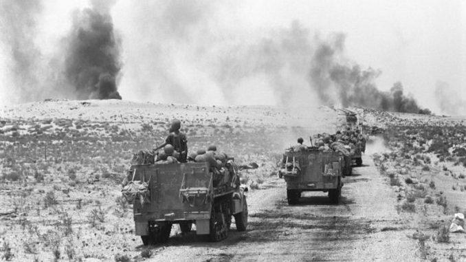 لقطة من حرب يونيو 1967