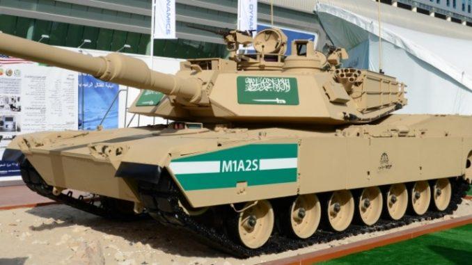 دبابة أبرامز سعودية