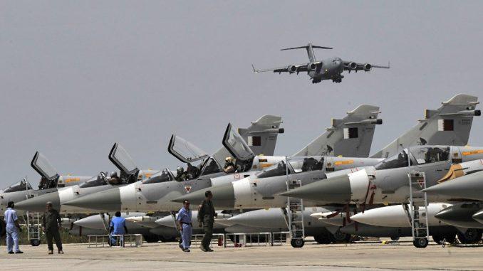 مقاتلات وطائرات نقل أميركية